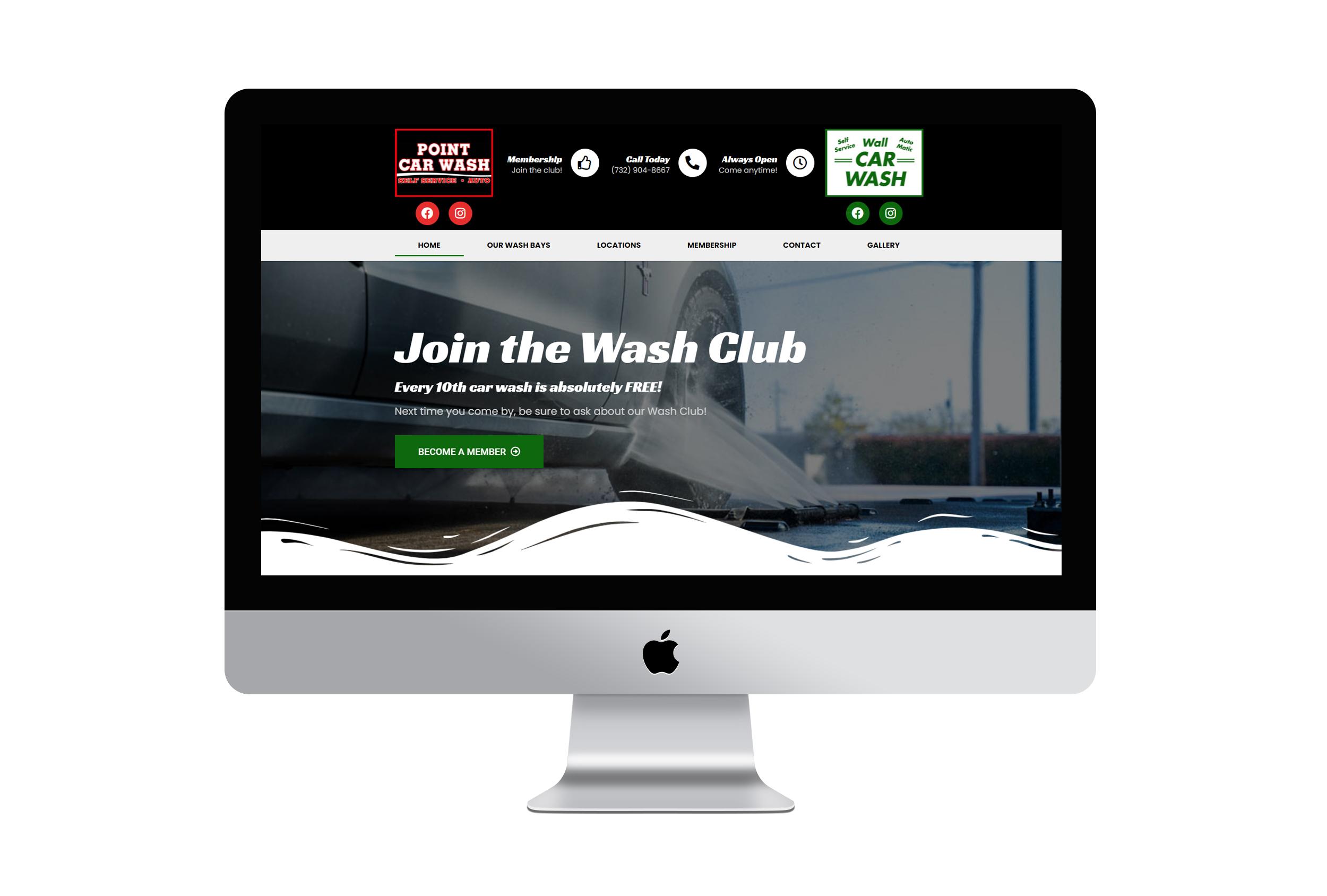 EveryDayEspo - Wall/Point Car Wash Website